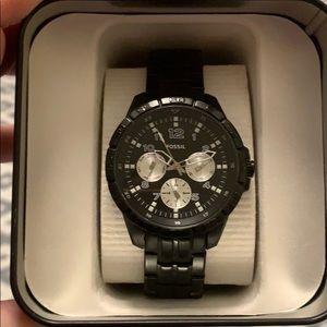 Men's like new fossil watch!